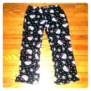 Hello kitty pajama pants size Large